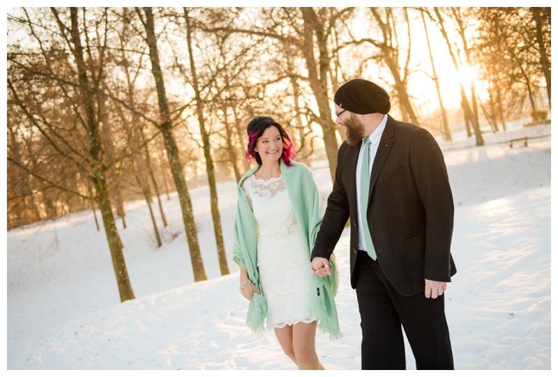 Hochzeitsfotograf Biberach Schnee Hochzeit_1375